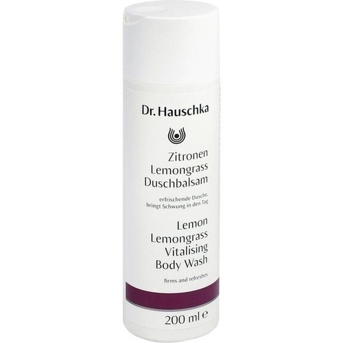 Dr. Hauschka Zitronen Lemongrass Duschbalsam, 200 ML, Wala Heilmittel GmbH Dr. Hauschka Kosmetik