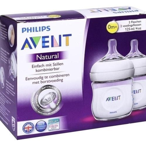 Avent 125ml PP Flasche nach dem Vorbild der Natur, 2 ST, Philips GmbH