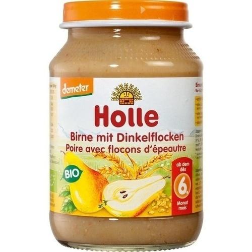 Holle Birne mit Dinkelflocken, 190 G, Holle baby food AG