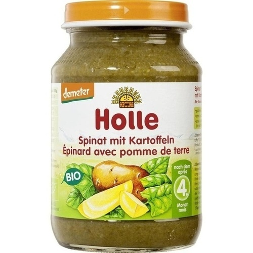 Holle Spinat mit Kartoffeln, 190 G, Holle baby food AG