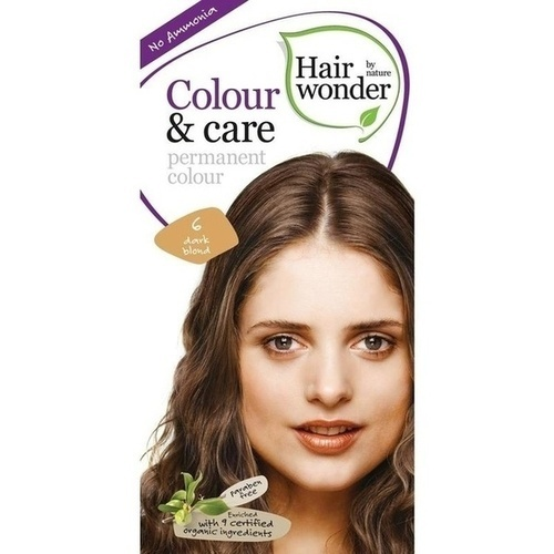Hairwonder Colour & care Dark Blond 6, 100 ML, Frenchtop Natural Care Products B.V