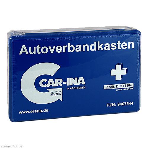 Senada CAR-INA Autoverbandkasten blau, 1 ST, Erena Verbandstoffe GmbH & Co. KG