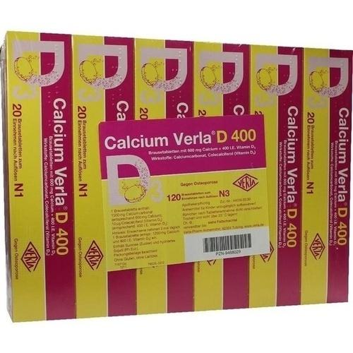 Calcium Verla D 400, 120 ST, Verla-Pharm Arzneimittel GmbH & Co. KG