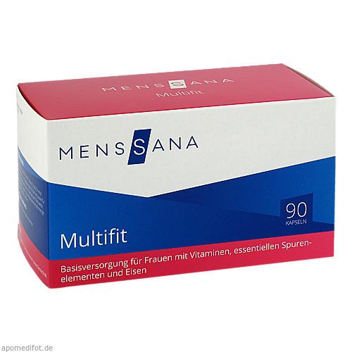 Multifit MensSana, 90 ST, MensSana AG