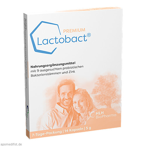Lactobact Premium 7-Tage-Packung, 14 ST, Hlh Bio Pharma Vertriebs GmbH