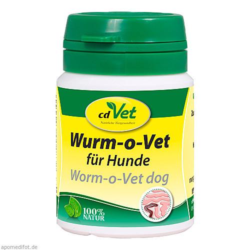 WURM-o-Vet Pulver f.Hunde, 12 G, cd Vet Naturprodukte GmbH