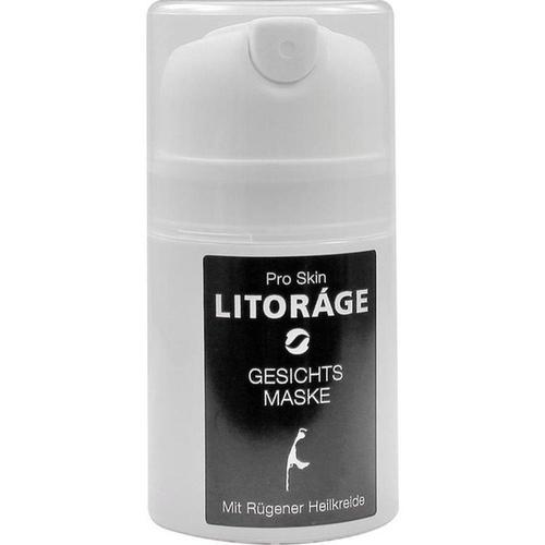 LITORAGE GESICHTSMASKE MIT RÜGENER HEILKREIDE, 50 ML, Inwater Biotec GmbH