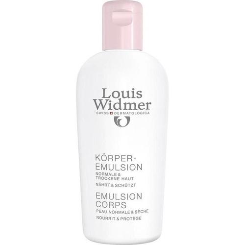 Widmer Körperemulsion nicht parfümiert, 200 ML, Louis Widmer GmbH