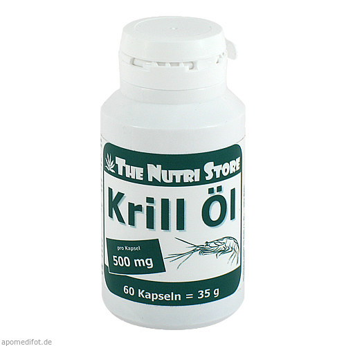 Krill Öl 500mg, 60 ST, Hirundo Products