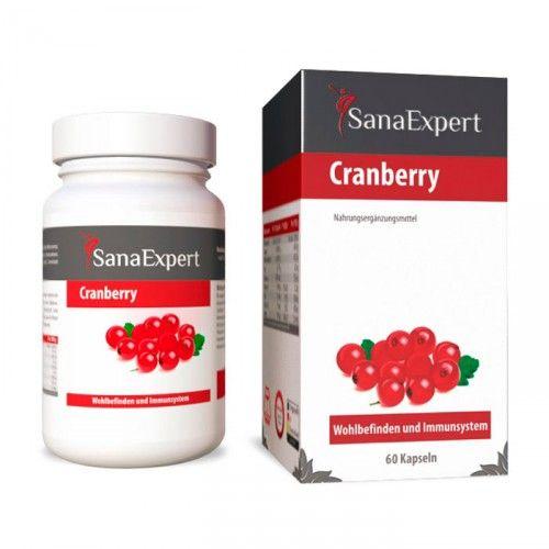 SanaExpert Cranberry, 60 ST, Sanaexpert GmbH