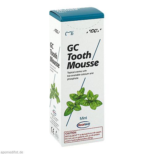 GC Tooth Mousse Pfefferminz, 40 G, Dent-O-Care Dentalvertriebs GmbH