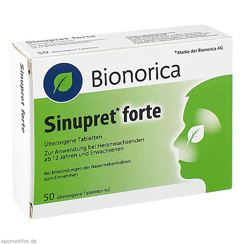 Sinupret forte Dragees, 50 ST, Emra-Med Arzneimittel GmbH