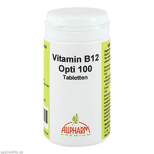 Vitamin B12 Opti 100, 180 ST, Allpharm Vertriebs GmbH