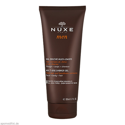 NUXE Men Gel Douche Multi-Usages, 200 ML, Nuxe GmbH