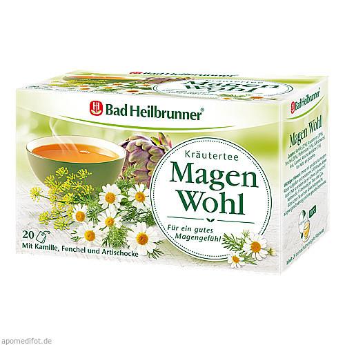 Bad Heilbrunner Kräutertee Magen Wohl, 20 ST, Bad Heilbrunner Naturheilm. GmbH & Co. KG