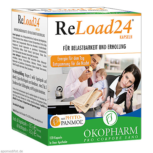 Reload 24 Kapseln, 120 ST, Sanova Pharma GesmbH