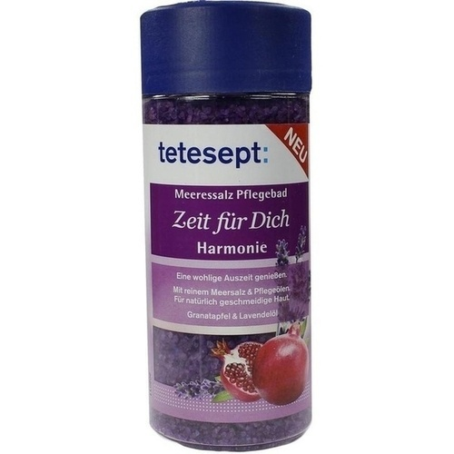 TETESEPT Meeressalz Pflegebad Zeit f.Dich Harmonie, 600 G, Merz Consumer Care GmbH
