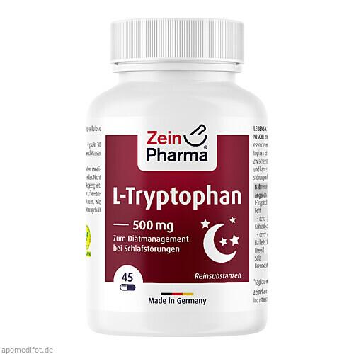 L-Tryptophan 500mg aus Fermentation, 45 ST, Zein Pharma - Germany GmbH