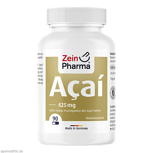 Acai Power 25.500mg Kapseln, 90 ST, Zein Pharma - Germany GmbH