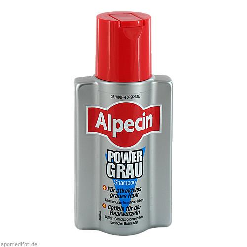 Alpecin Power Grau Shampoo, 200 ML, Dr. Kurt Wolff GmbH & Co. KG