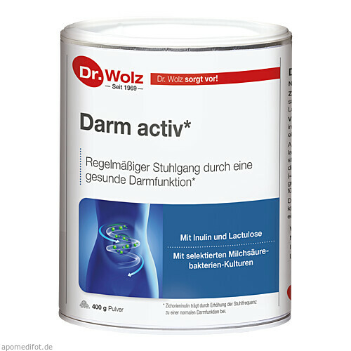 Darm activ Dr. Wolz, 400 G, Dr. Wolz Zell GmbH