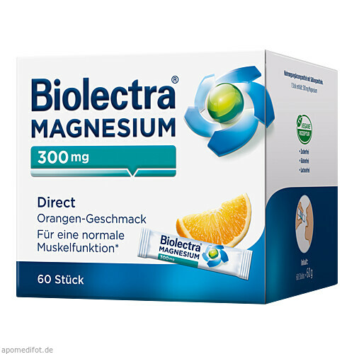 Biolectra Magnesium Direct Orange, 60 ST, Hermes Arzneimittel GmbH