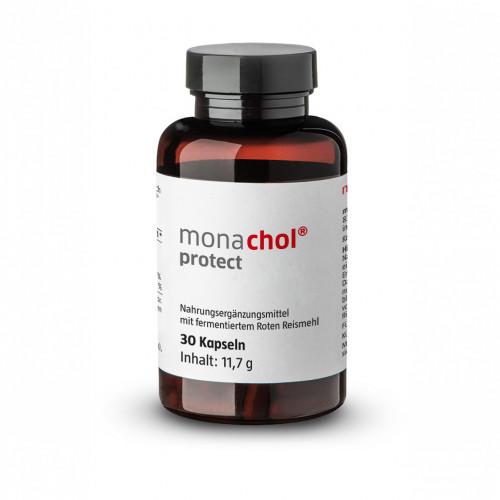 monachol protect Rotes Reismehl+30mg Coenzym Q10, 30 ST, Monasan GmbH