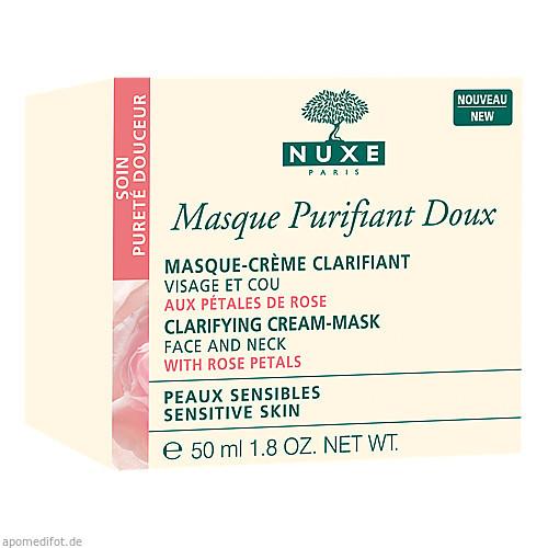 NUXE Masque Purifiant Douce aux Petals de Rose, 50 ML, Nuxe GmbH
