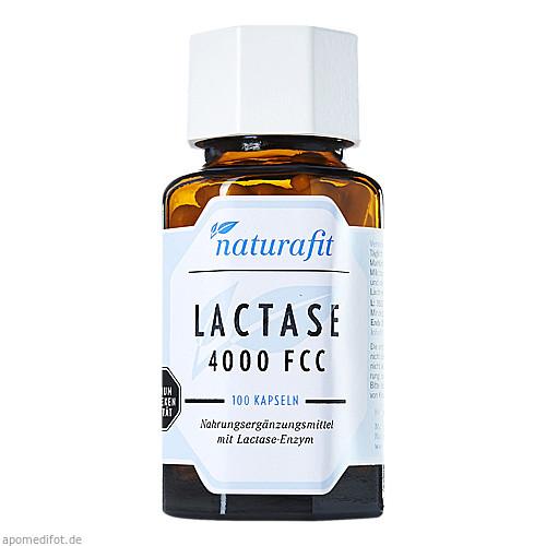 Naturafit Lactase 4000 FCC, 100 ST, Naturafit GmbH