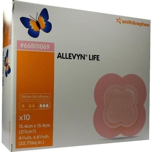 ALLEVYN LIFE 15.4x15.4cm, 10 ST, Smith & Nephew GmbH