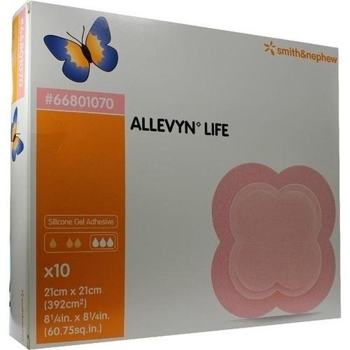 ALLEVYN LIFE 21x21cm, 10 ST, Smith & Nephew GmbH