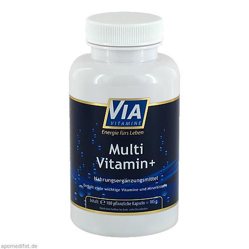 Multivitamin + Mineral A-Z, 100 ST, Apotheken Marketingpartner AG