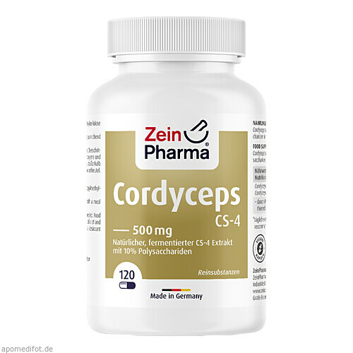 Cordyceps CS-4 Kapseln, 120 ST, Zein Pharma - Germany GmbH