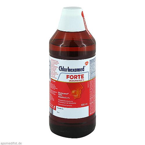 Chlorhexamed FORTE alkoholfrei 0.2%, 600 ML, GlaxoSmithKline Consumer Healthcare