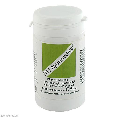 H 15 Ayurmedica, 100 ST, Hecht-Pharma GmbH