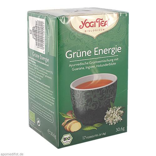 YOGI TEA GRUENE ENERGIE BIO, 17X1.8 G, Taoasis GmbH Natur Duft Manufaktur