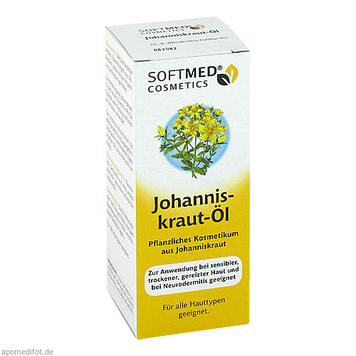 Softmed Cosmetics Johanniskrautöl, 50 ML, Bio-Diaet-Berlin GmbH