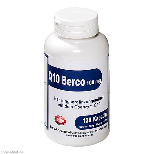 Q10 Berco 100mg, 120 ST, Berco-ARZNEIMITTEL