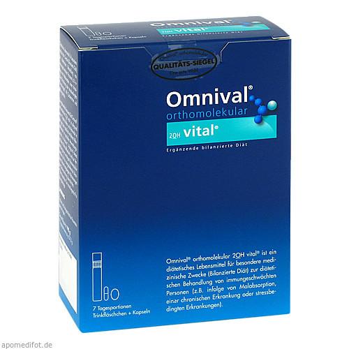 OMNIVAL orthomolekular 2OH vital 7 TP Trinkfl., 7 ST, Med Pharma Service GmbH