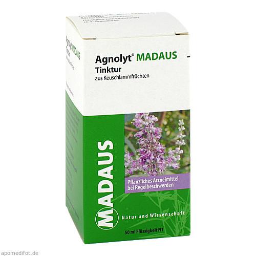 AGNOLYT Madaus Tinktur aus Keuschlammfrüchten, 50 ML, Meda Pharma GmbH & Co. KG