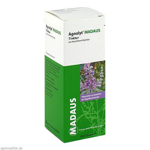 AGNOLYT Madaus Tinktur aus Keuschlammfrüchten, 100 ML, Meda Pharma GmbH & Co. KG