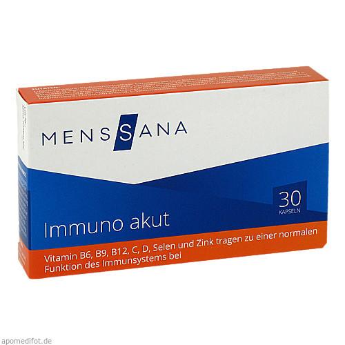 Immuno akut MensSana, 30 ST, MensSana AG