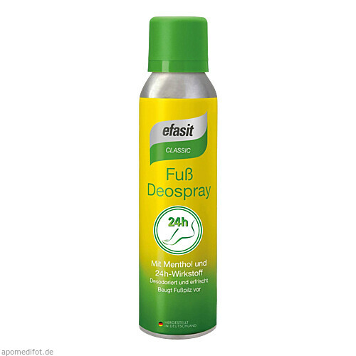 efasit Classic Fuß Deospray, 150 ML, Togal Werk AG