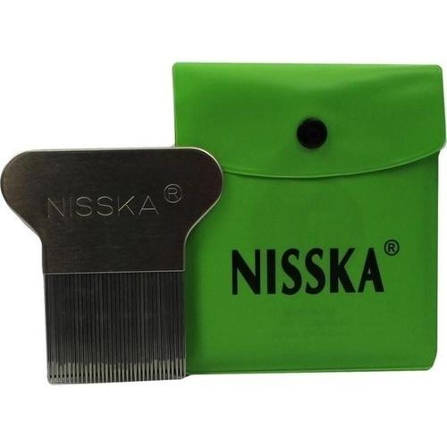 NISSKA Läuse- und Nissenkamm Metall, 1 ST, Fritz B. Mueckenhaupt Erben Ohg