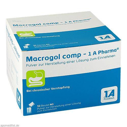 Macrogol comp 1A Pharma, 50 ST, 1 A Pharma GmbH