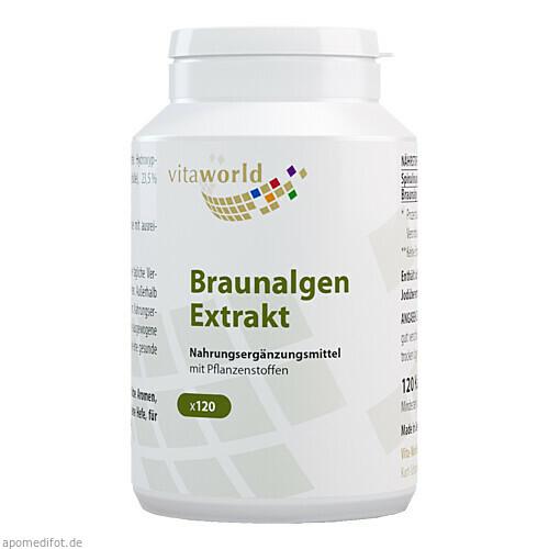 Braunalgen Ektrakt 500mg, 120 ST, Vita World GmbH