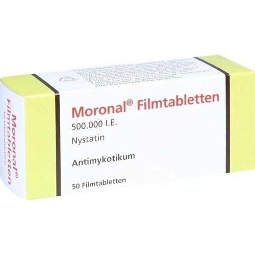 Moronal Filmtabletten, 50 ST, Dermapharm AG