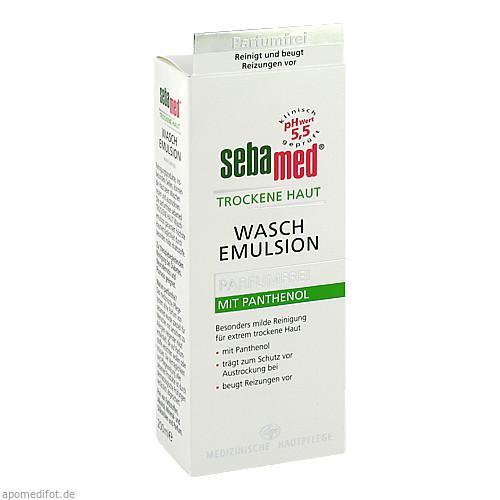 sebamed Trockene Haut Parfumfrei Waschemulsion, 200 ML, Sebapharma GmbH & Co. KG