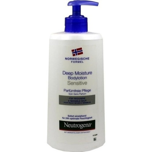 Neutrogena NF Deep Moisture Bodylotion sensitive, 400 ML, Johnson&Johnson Gmbh-Chc