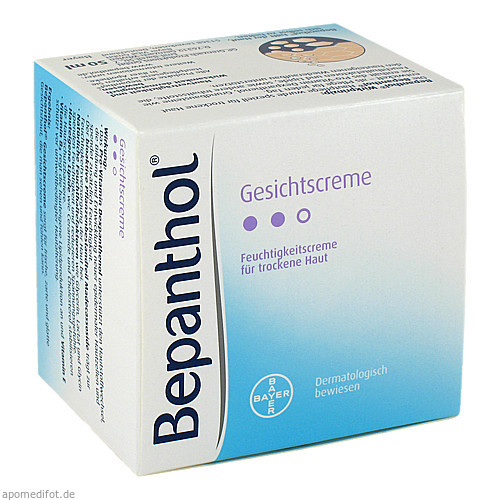 BEPANTHOL Gesichtscreme, 50 ML, Bayer Vital GmbH